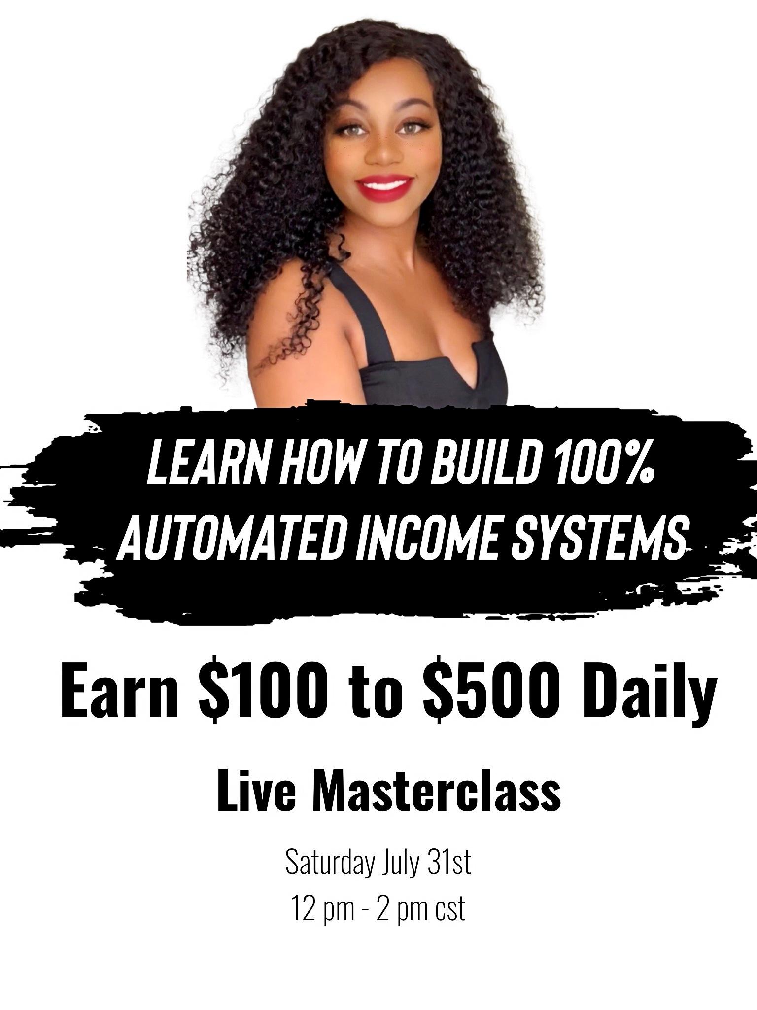MasterProfitz - 100% Automated Income Systems